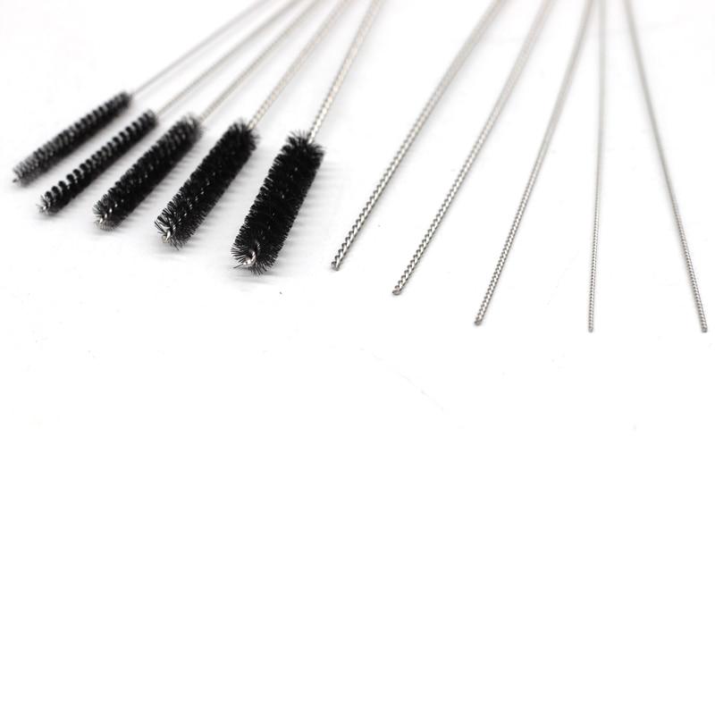 Image 3 - 11pcs Airbrush Spray Gun Nozzle Cleaning Repair Tool Kit Needle & Brush Set-in Spray Guns from Tools on
