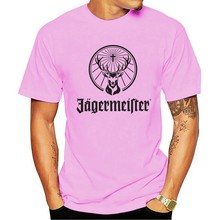 Jagermeister Short Sleeve Shirt Clothing New Arrival print Solid s & Tees Bottoming Summer t shirt whosale
