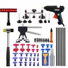Pdr Инструменты для ремонта автомобиля вмятин Инструменты для ремонта вмятин на автомобиле Съемник присоски клеевой пистолет обратный молоток ручной инструмент
