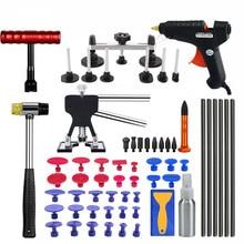 Vehicle Dent Repair Car Body Dents Car Dent Repair Tools Puller Suction Cups Glue Gun reverse hammer hand tool