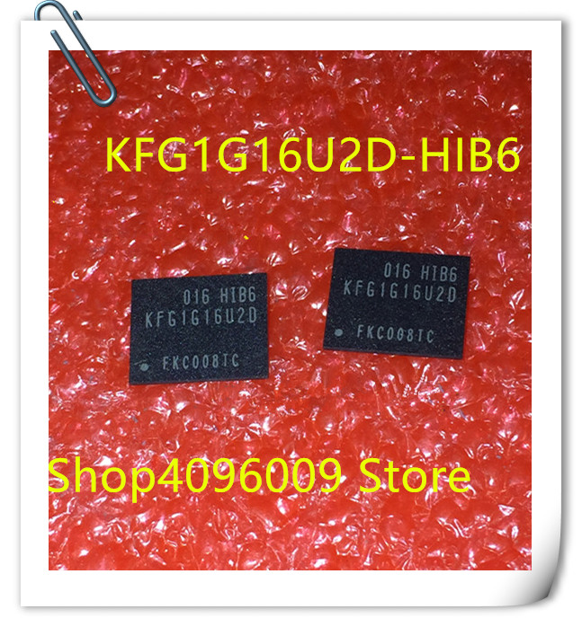 100% New Original  1PCS/LOT KFG1G16U2D-HIB6 BGA DDR3 KFG1G16U2D HIB6