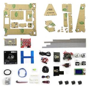 Image 5 - Einfach Montieren Anet A6 Anet A8 3D Drucker Kits i3 Kit DIY Kits 3D Druck Maschine mit SD Karte + filament + Werkzeuge