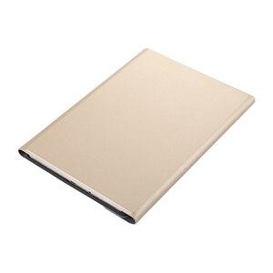 Image 3 - Alesser, para Samsung Galaxy Tab A 10,1 2019, funda abatible para Samsung Galaxy Tab A 10,1 2019, funda para tableta teclado inalámbrico Bluetooth