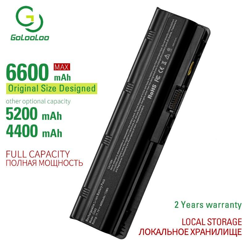 Golooloo Laptop Battery For Hp 430 431 435 630 631 635 636 650 655 593553-001 MU06XL MU09 MU09XL WD548AA 2000-100, 2000-200 -300