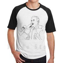 Gough whitlam t camisa diy tamanho grande 100% algodão deus 11 rainha fraser salvar general gough whitlam 1975 malcom governador novemeber