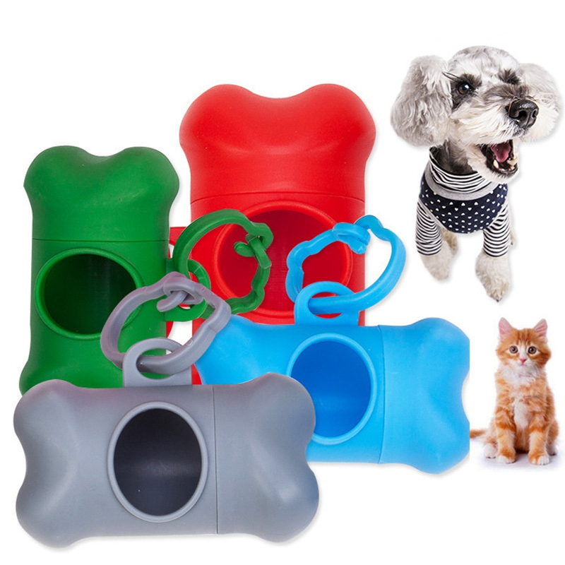Dog Poop Bag Holder Dog Bags Biodegradable Doggy Waste Poop Scooper Dogs Toilet Shit Clean Collector Tool