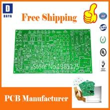DDAYA быстрый поворот низкая стоимость PCB прототип производитель, FR4 алюминиевая Гибкая PCB, трафарет пасты для пайки, 007