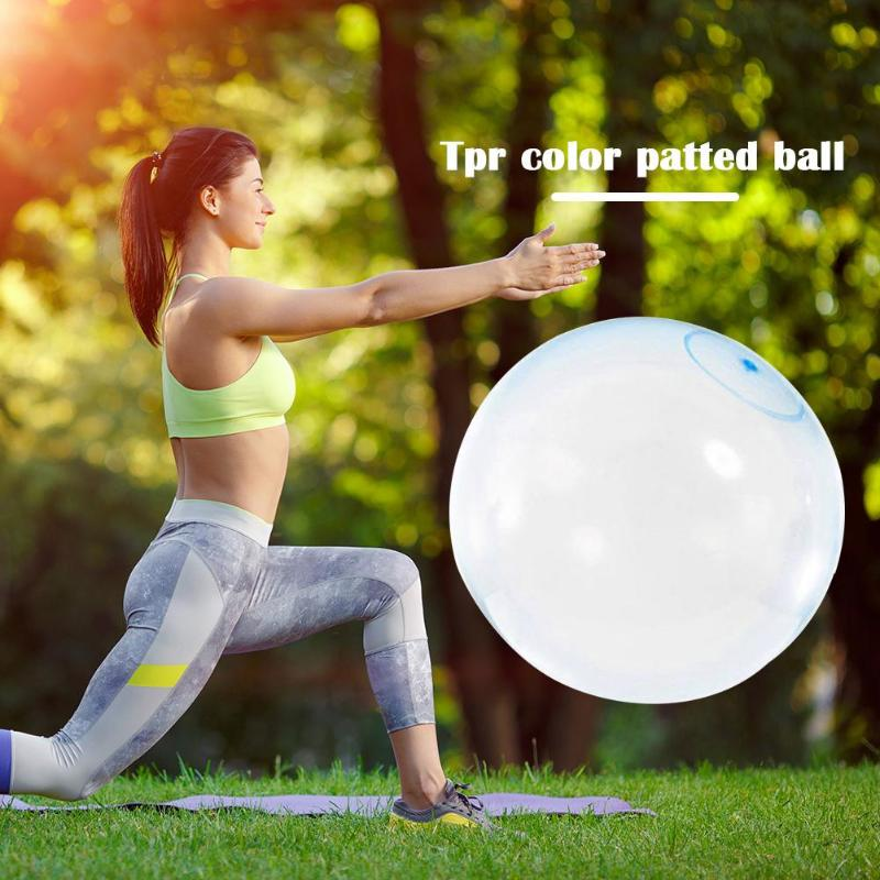 Color Random Patted Ball New And High Quality Outdoor TPR Inflatable Balloons Fashionable Atmosphere Reduce Pressure Toy