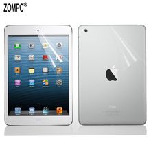 1x Front +1x Back Soft Screen Protector Films Full Body Film Guards For Apple iPad Mini 1 2 3 4 5 7.9 Air Pro 9.7 10.5 2018 2019