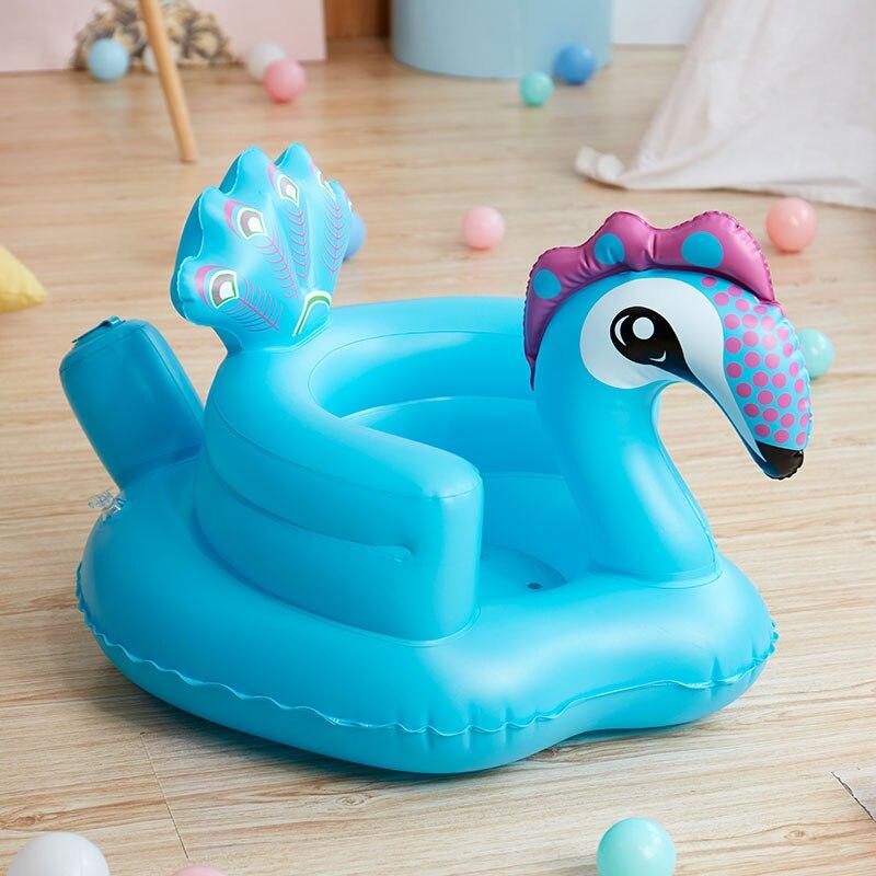 Baby Study Chair Inflatable Sofa Baby Music Chair Portable Dining Chair Bathroom Stool