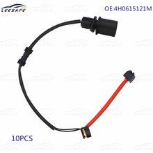 10 шт датчик тормозной колодки 4h0615121m для audi a8 4h2 4h8