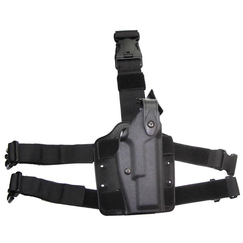 Hunting Right Hand Drop Leg Holster Tactical Combat Thigh Waist Belt Pistol Holster For Glock 17 19 22 23 31 32