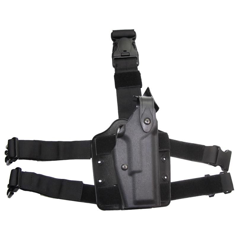 Охотничья кобура для правой руки, тактический боевой пояс на бедро, кобура для пистолета для Glock 17 19 22 23 31 32