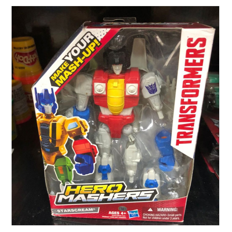 Hasbro Transformers Make Your Mask Up Action Figures Autobot Hero Mashers Models Collection Springer Bumblebee Robot Boy