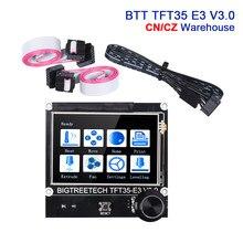 Bigtreetech btt tft35 e3 v3.0 suporte da tela de toque wifi 12864lcd display para skr mini e3 v2 ender3 atualização cr10 peças impressora 3d