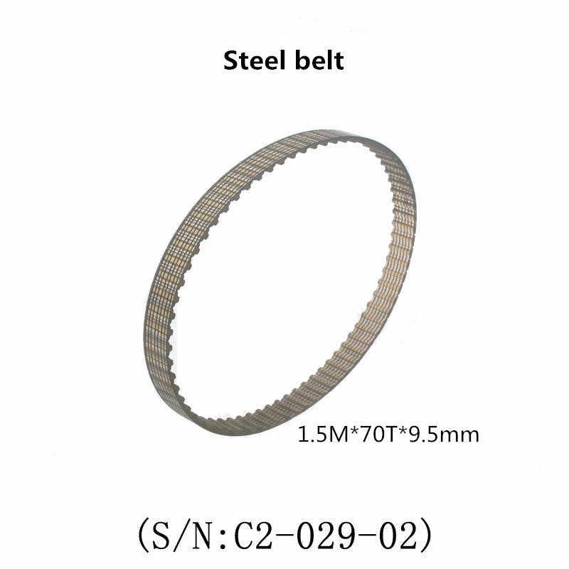Correa de distribución 1,5 M x 70T x 9,5mm Anchura de la correa Industrial para cj0618 Mini máquina de torno west matt C2 C3 torno sincronizado piezas