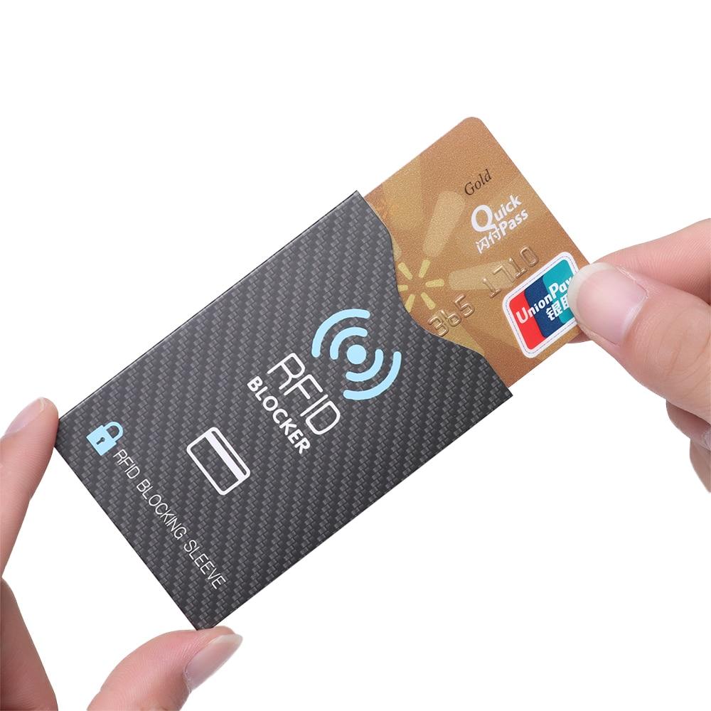 5 шт., защита от кражи для кредитных карт RFID, защитный чехол для банковских карт