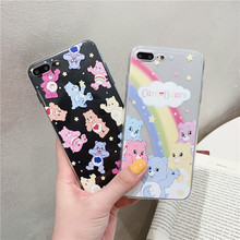 Cute Bear Pattern Phone Case for Huawei