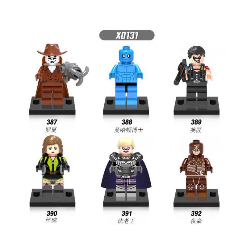 Watchmen Building Block Mini Figure Dr Manhattan