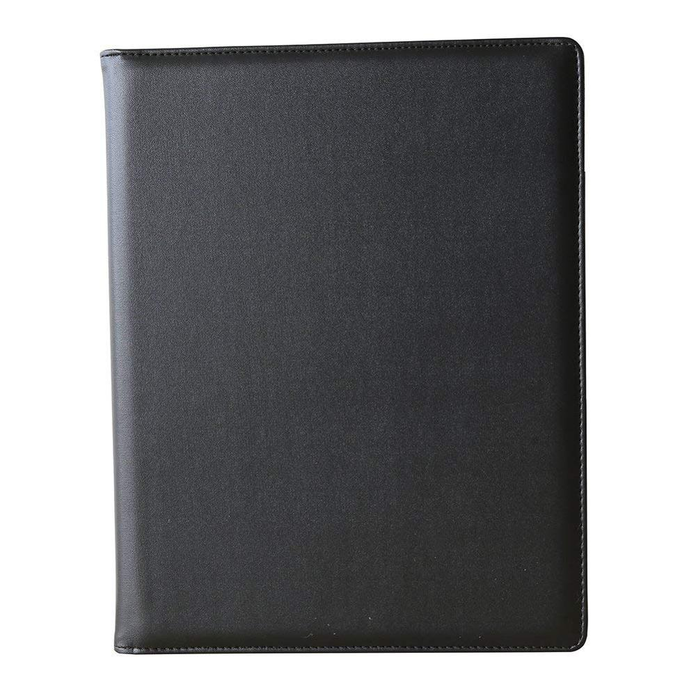 A4 Writing Pads File Folder PU Leather Business Financial Document Paper Holder Name Card Pocket For Office School Supplies(China)