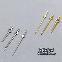 Miuksi серебро/золото стрелки часов подходят ETA 2834 2836 2824 часовой механизм
