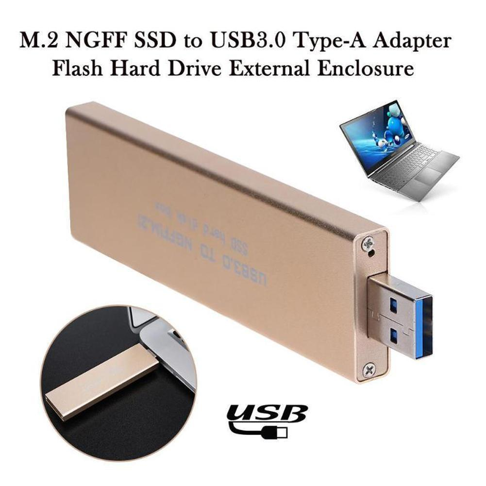 USB 3.0 To M. 2 (NGFF) SSD External Storage Box Support Up To Rate Transmission Disk Removable 5Gbps Box Hard K5L7