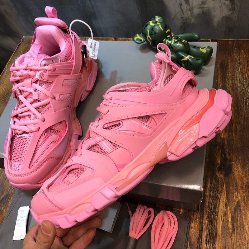 2020 Women Shoes Platform Sneakers Pink