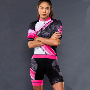 цена на bettydesigns bicycle Short sleeve shirts women's cycling clothing bike pro Team sets quick dry Jersey ropa ciclismo suit Gel pad