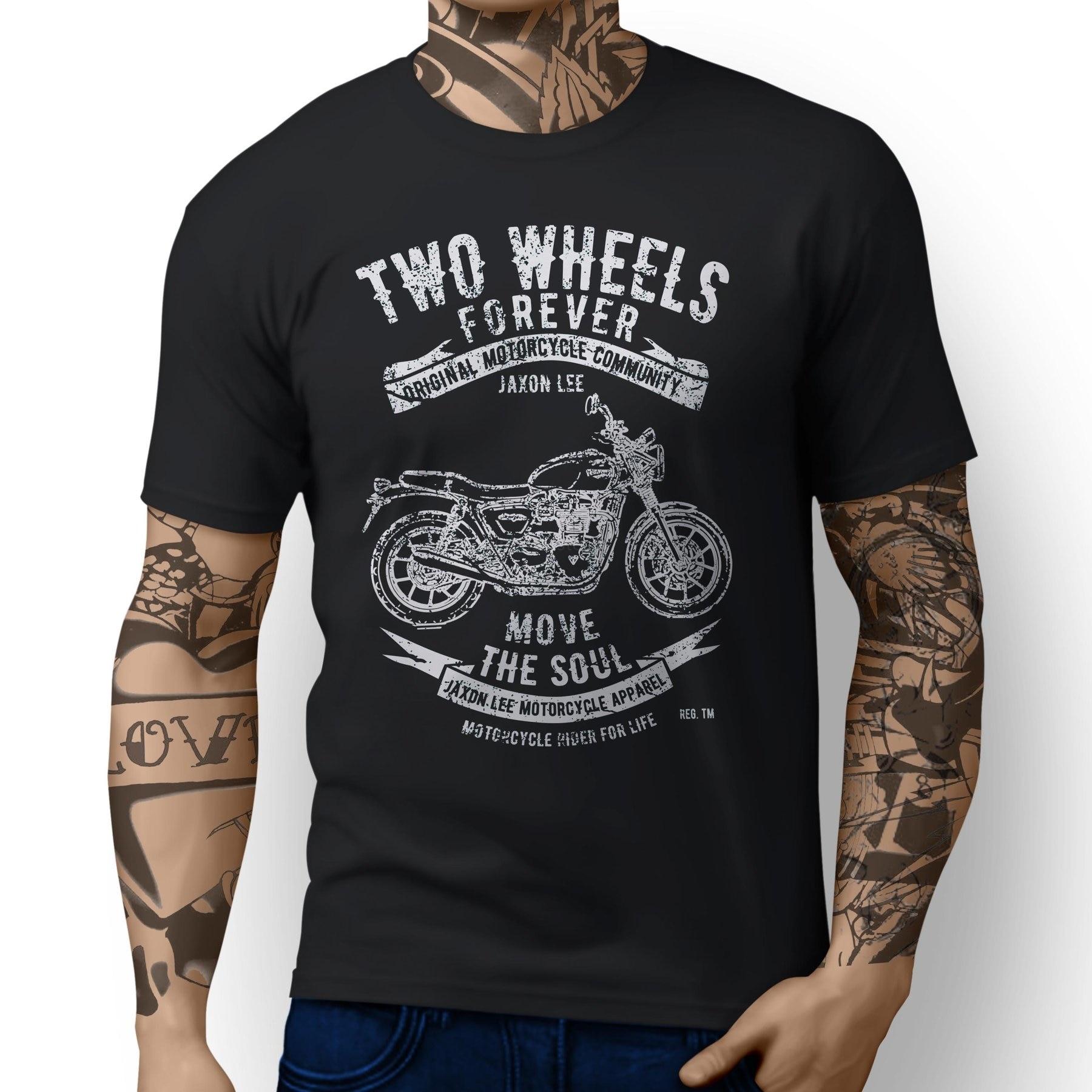 JL Ride Triumph Tiger 800 Inspired Motorbike Art T-shirts