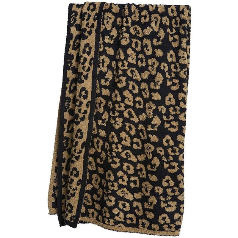 Sherpa xadrez leopardo lã de malha lance cobertor sofá cobertor super macio e confortável microfibra cama cobertor cobertores para camas