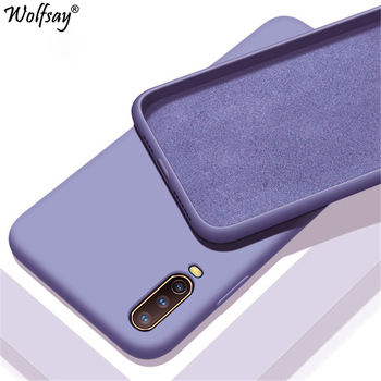 Перейти на Алиэкспресс и купить Яркий однотонный Жидкий чехол для Vivo V17 Neo, чехол для телефона Vivo Z5X V15 Z1 Pro iQOO Neo Y17 Y12 Y11 Y15 Y3 U3X Y19