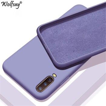סוכריות מוצק צבע נוזל מקרה עבור Vivo V17 Neo מקרה טלפון מקרה עבור Vivo Z5X V15 Z1 פרו iQOO Neo y17 Y12 Y11 Y15 Y3 U3X Y19 כיסוי