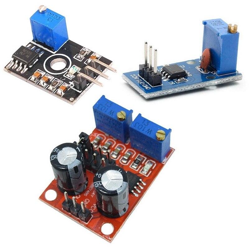 NE555 Частотный рабочий цикл регулируемый модуль квадратный 5V-12V генератор сигналов