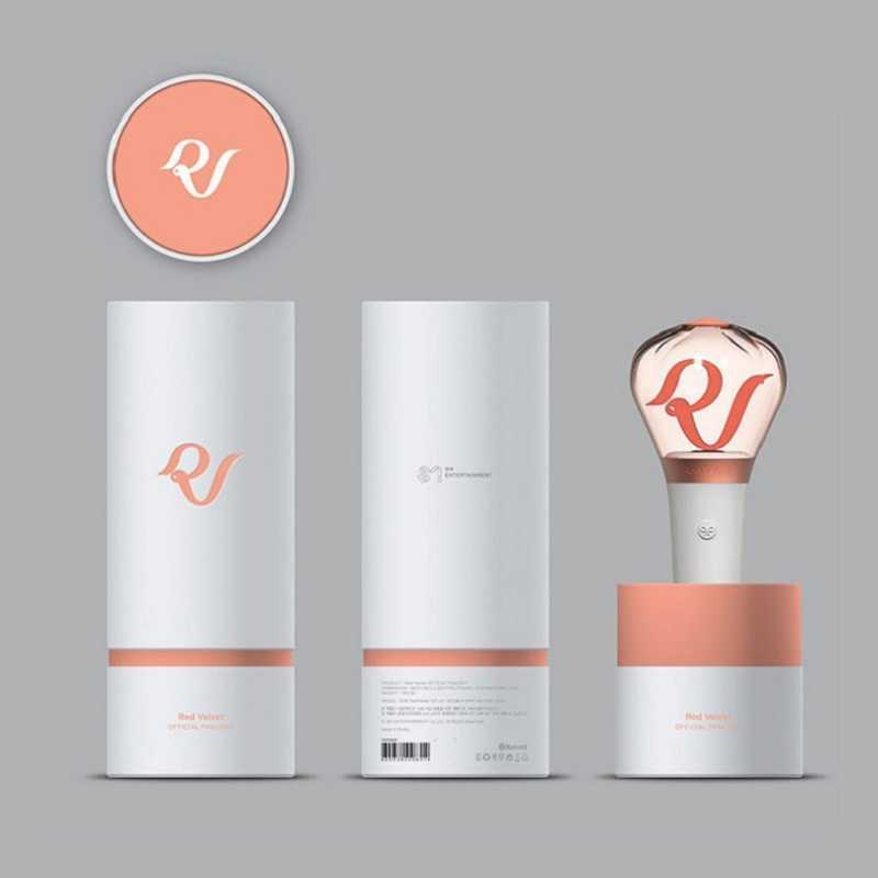 Corea LED Rosso di Velluto Lightstick Fanlight Concerti Parte Album Bagliore di Luce Della Lampada Bastone Luminoso Fluorescente Supporto Giocattoli Ventole Regalo