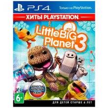Игра для Sony PlayStation 4 LittleBigPlanet 3(Хиты PlayStation)(русская версия