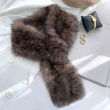 ZDFURS* Women's 100% Real Sable Fur Knitted Scarf Highend Quality Natural Mink Fur Scarves Lady Fashion Winter Wraps Neck warmer