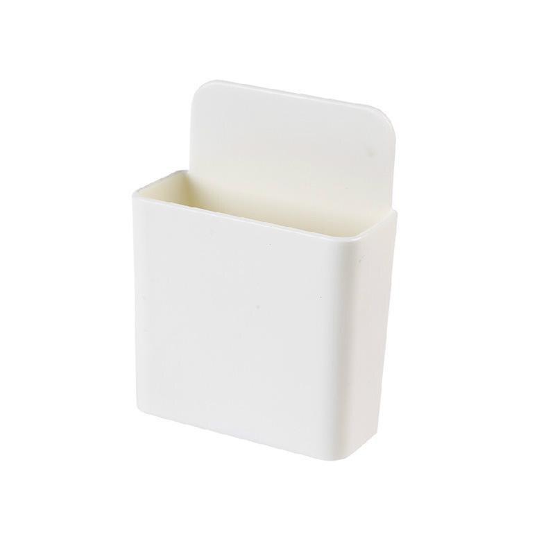 Коробка для хранения пульт дистанционного управления кондиционер чехол для хранения мобильный телефонный разъем Держатель подставка контейнер 1 шт. настенный смонтированный Органайзер - Цвет: 10 Small