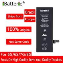 10 sztuk/partia Bateria litowa iBatterie dla Apple iPhone 6S 6 7 X SE Xr Xs Max 6Plus 7Plus wymiana baterii dla iPhone 6S iPhone7