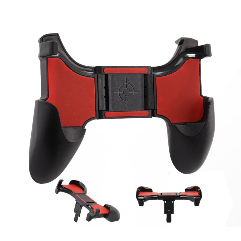 PUBG Mobile Controller Free Fire L1 R1 Triggers Gamepad PUBG Mobile Game Pad Grip L1R1 Joystick For iPhone Android Phone Shooter