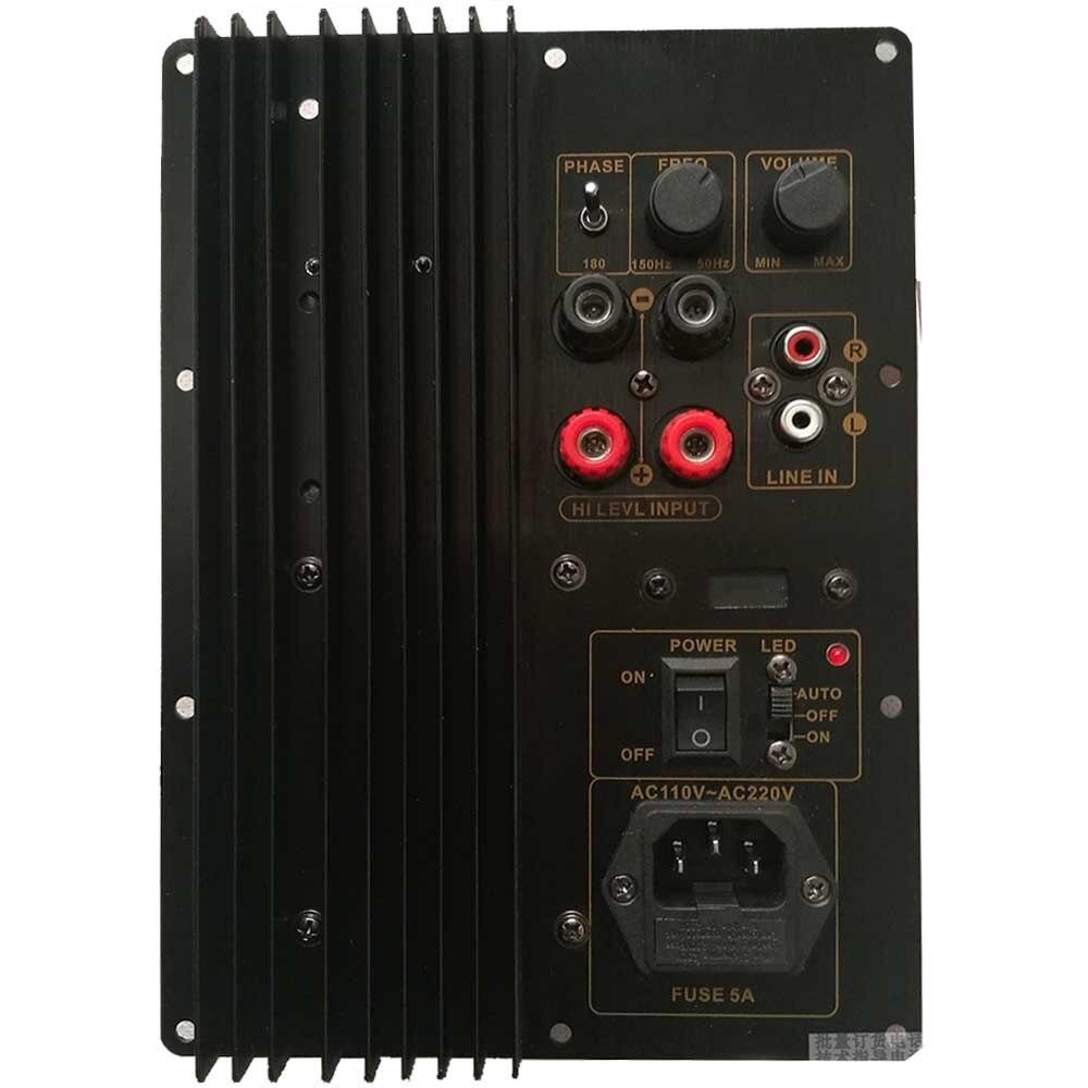110 В ~ 220 В 150 Вт 200 Вт тяжелый сабвуфер цифровой усилитель мощности плата усилителя активной мощности чистый бас TDA8950 TDA8954
