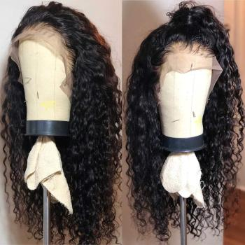 Colored Long Afro Kinky Curly Hair 13x4 Lace Front Wig Gluless Heat Resistant Synthetic Lace Front Wig for Black Women Side Part side parting fluffy long curly synthetic wig