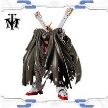 Japon Anime Bandai passe-temps 13cm RG 1/144 #31 Crossbone Gundam X1 modèle de qualité réelle assemblé Robot figurine gunpla enfants jouet