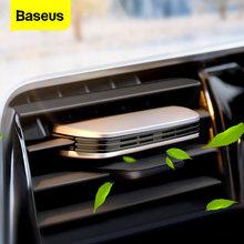 Baseus-ambientador de aire para coche, fragancia de Perfume sólido para ventilación Interior automática, difusor de Aroma, aromatizante