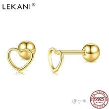 Lekani реальные 925 стерлингового серебра романтическая полые