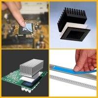 Термостойкая термостойкая Двусторонняя лента 25 м X 20 мм X 0,2 мм термолента для светодиодной ленты, светильник с ЖК-дисплеем