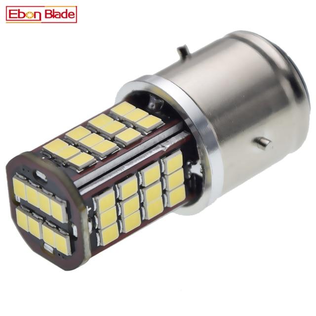 1Pcs BA21D 30SMD LED אופנוע אופנוע פנס הנורה Hi/Lo Beam רכב אוטומטי קטנוע טוסטוס טרקטורונים ראש אור גלוב לבן 6V 12V DC
