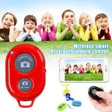 Cámara de teléfono inteligente Bluetooth inalámbrica, palo selfi con disparador para Android IOS, DJA99