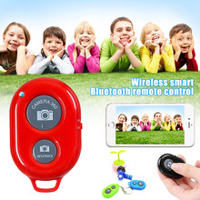 Wireless Bluetooth Smart Phone Camera Remote Control Selfie Stick Shutter for Android IOS DJA99
