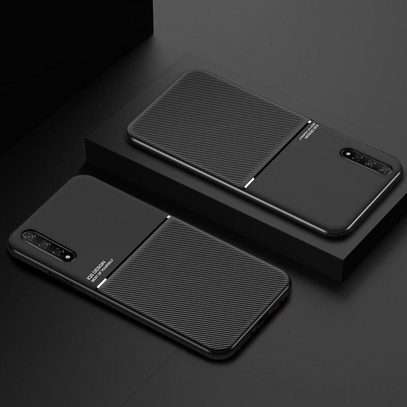 For VIVO V17 Neo Z5X Z5 V15 Z1 Pro Z5i Case Magnetic Sticker Silicone Phone Cover For VIVO IQOO Pro IQOO Neo Case
