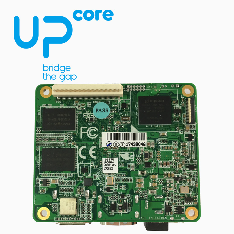 UP Core Board Intel Intel X86 Platform Development Board Compatible With Raspberry Pie Without Mipicsi
